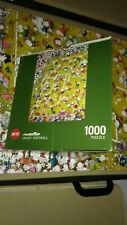 Heye Mordillo Crazy Football 1000 piece jigsaw puzzle. Complete + poster. VGC.