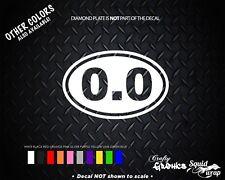 0.0 I Don't Run Funny Marathon Sticker Running Oval Sticker Window Decal Vinyl