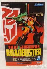 Transformers Roadbuster EM-04 Takara Goukin Series Figure MISB
