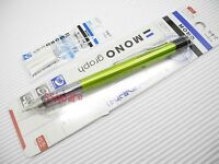 Tombow Mono Graph 0.5mm Mechanical Pencil w/ Eraser Pen + 3 Eraser Refills, G