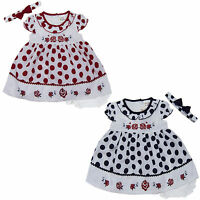 new newborn infant baby girl dress 3 piece set outfit size 3 6 9 12 18 24 months