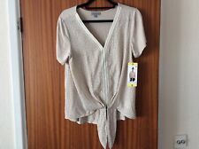 joseph A. designer embellished top BNWT small ivory buy for £8