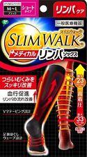 SLIM WALK (Japan) Medical Lymph Swollen-leg Care In-home Socks M-L Size