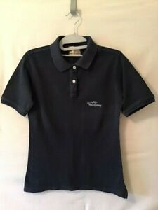 Thomas Burberry Polo Shirt, Vintage Blue