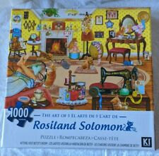Kittens Visit Betsy's Room Rosiland Solomon 1000 Piece Puzzle