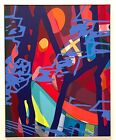 """KAWS x BROOKLYN MUSEUM """"WHAT PARTY"""" """"SCORE YEAR"""" POSTER (38"""" x 48"""") *NEW in TUBE"""