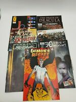 (52) Horror Halloween Different Comic Book Lot Steven King Vampirella Guarantee