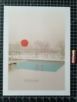 Vampire Weekend Concert Poster Ready to Frame Reprint
