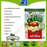 Brothers-All-Natural Freeze-Dried Fruit Crisps Fuji Apples 12 Single-Serve Bags