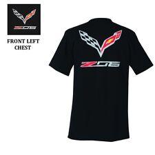 C7 Z06 Corvette Emblem Black T-Shirt