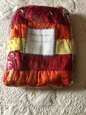 New in Package RUFFLED FLEMENCO PINE CONE HILL Bed Skirt SIZE QUEEN
