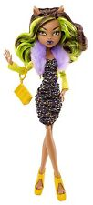 MONSTER HIGH CLAWDEEN WOLF Kohl's Exclusiv Edition BAMBOLA DA COLLEZIONE RARO x5107