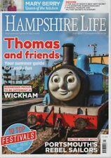 Hampshire Life Magazine July 2018 Wickham, Portsmouth, Thomas The Ta, Mary Berry