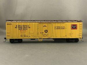 Athearn - Burlington - 50' O/B Mechanical Reefer + Wgt # 5237