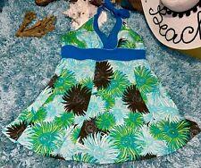 Rockabilly One Piece Romper One Piece Minimizer Dress Playsuit Swimsuit 16 XL