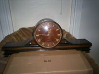 Beautiful Hermle Art Deco  mantle clock with Westminster/Whittington chimes