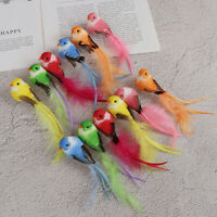 1Pc Fake craft birds artificial foam feathers birds home party wedding decor NT