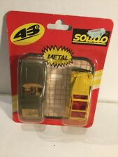 Solido 1/43 Die-Cast Vehicles With Backing Card & Blister 2CV Porsche ( Opened )