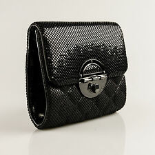 MIMCO Petite Tux Clutch Black Metal Mesh Gunmetal BNWD RRP249 Evening Bag Square
