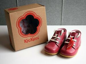 Baby Toddler Kickers Kick Hi B Core Boots - Blossom Pink - Size 3 - Brand New!