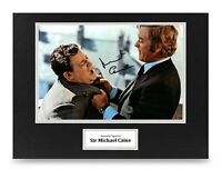 Sir Michael Caine Signed 16x12 Photo Display Get Carter Autograph Memorabilia