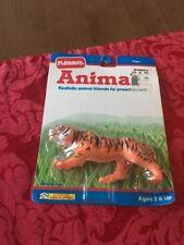 RARE NIP Vintage Playskool Animals Tiger Figure 3568