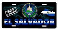 "El Salvador Aluminum License Plate Placa 6"" x 12"""