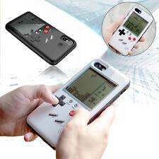 Multi-color Retro Nintendo Gameboy Console Phone Case Cover for iPhone X Black