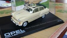 Opel  Rekord Cabrio `1954-1956 , beige-1/43-Modellauto  -Opel Collection-