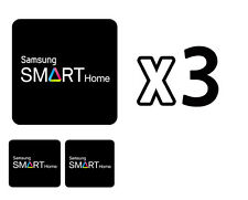 Samsung Door Locks RFID Cards SHS-AKT300 Smart Tag Key Sticker 3-Set Balck NEW