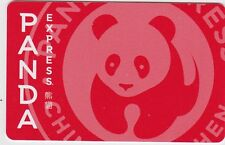 Panda Express Gourmet Chinese Restaurant 2016 Gift Card Collectible