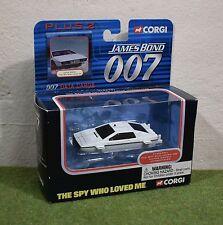 CORGI James Bond 007 PLUS 2 LA SPIA CHE MI AMAVA LOTUS ESPRIT sott 'acqua TY95701