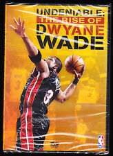 NBA - Undeniable - The Rise Of Dwayne Wade (DVD, 2010) - NEW & SEALED