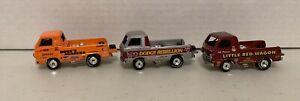 Johnny Lightning Dodge Dragster Truck 3 car lot
