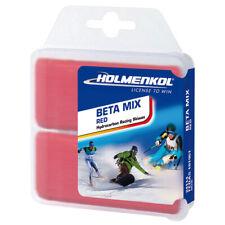 Holmenkol Betamix Rouge 2x35g Basique Cire Cire Chaude Alpine Nordique Snowboard