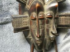 GOOD WEST AFRICAN TRIBAL ART SENUFO MASK