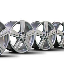 4x Mercedes Benz 17 Zoll Felgen E-Klasse W212 S212 Alufelgen A2124013902 NEU