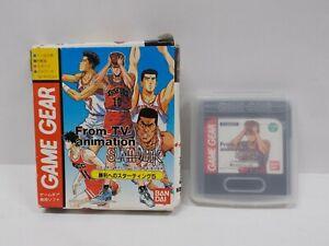 GAME GEAR -- Slam Dunk -- Boxed. Japan. Game. SEGA.14670