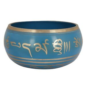 Round Shape Traditional Printed Steel Singing Decorative Bowl For Kitchen Use