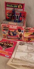 PIT STOP CATAPULT VINTAGE M.A.S.K. KENNER MASK TOY PLAYSET SLY RAX VENOM BOXED
