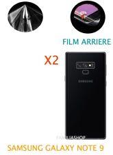 Lot 2 Films Protection arrière Entier Pour Écran Incurvé Samsung Galaxy NOTE 9