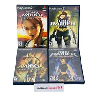 PS2 TOMB RAIDER Complete Collection | Underworld / Anniversary / Legend / Angel