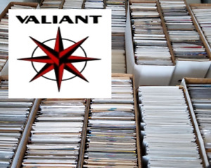 50 Comic Book HUGE lot - All DIFFERENT - Only VALIANT Comics - FREE Shipping!
