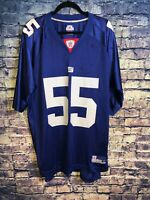 Reebok NFL #55 Arrington Jersey New York Giants NFL Dark Blue Size XL