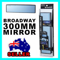 NAPOLEX BROADWAY 300MM CONVEX WIDE CAR INSIDE REAR VIEW MIRROR BW-147