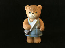 Lucy & Me Carpenter Bear With Hammer & Saw Lucy Rigg Enesco 1984