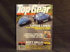 TOP GEAR MAGAZINE ISSUE 35 AUGUST 1996. LOTUS ELISE AND ESPRIT V8. MERCEDES SLK.