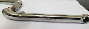 Sugino CR-MO stamped 83 1 piece crank old school bmx   burner Aero Pro ex cond
