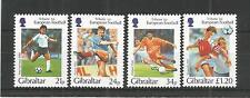 GIBRALTAR 1996 FOOTBALL EUROPEAN CHAMPIONSHIPS SG,771-774 U/MM N/H LOT 4442A