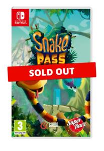 Snake Pass Nintendo Switch Super Rare Games #07 4000 WW Unsealed